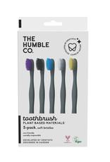 The Humble Co. Plant based tandenborstels - soft - 5 stuks