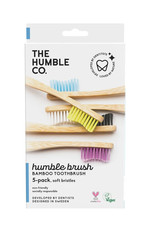 The Humble Co. Bamboe tandenborstels - soft - 5 stuks
