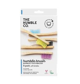 The Humble Co. Bamboe tandenborstels - soft - 5 stuks
