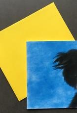 snoetjes vol sproetjes Kaartje Blauw vierkant - Collie