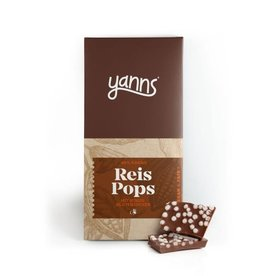 yanns YANNS Reis Pops Tafel, BIO, 75g