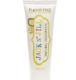 Jack 'n Jill Natural toothpaste flavour free 50g