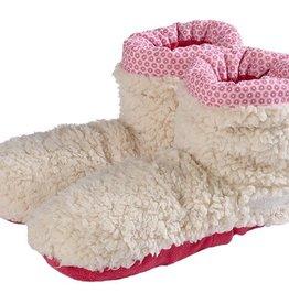 Warmies Volatile Warmies Slippies boots sherpa beige/roze 37 - 42