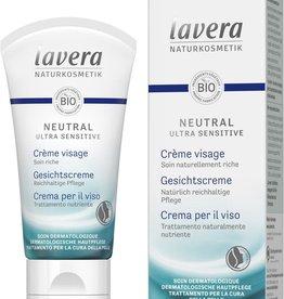 Lavera Neutral Ultra Sensitive Neutral gezichtscreme/face cream 50ml
