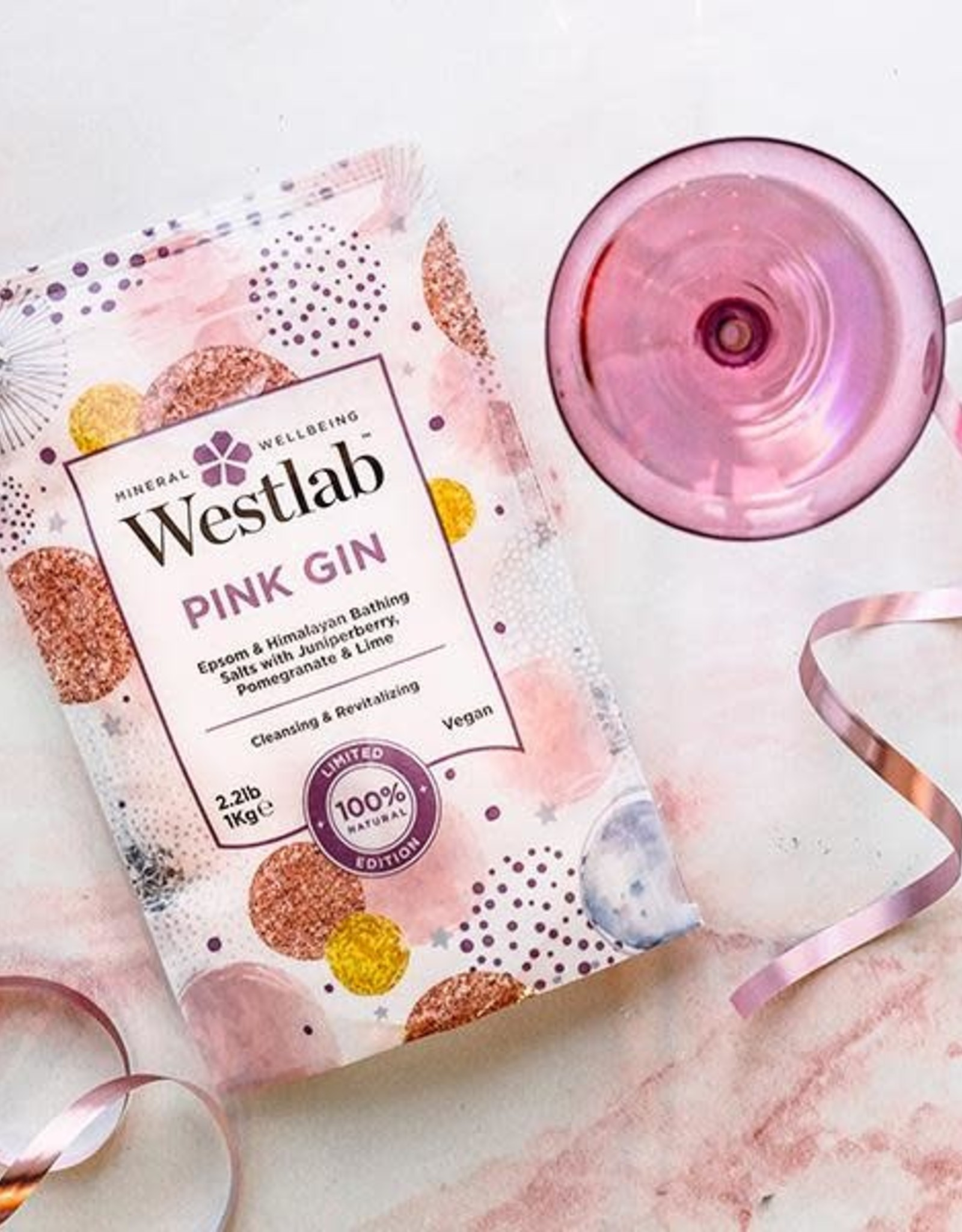 Westlab Badzout alchemy pink gin 1kg