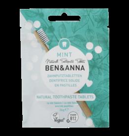 Ben & Anna Toothpaste tabletten zonder fluor 36g