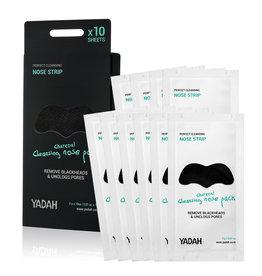 Yadah Yadah Charcoal Cleansing Nose Pack 10 Pcs