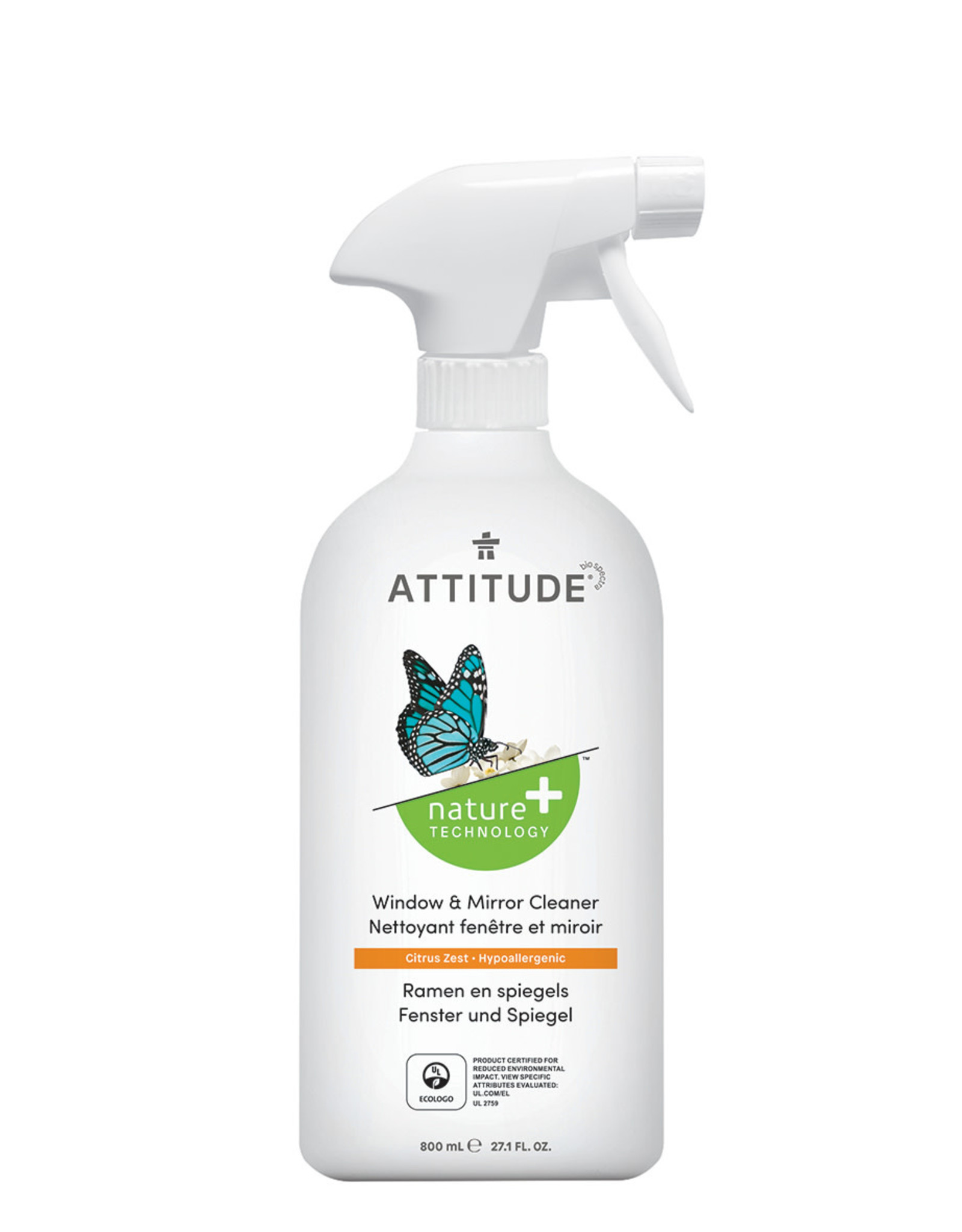 Attitude Attitude Window & Mirror 800ml