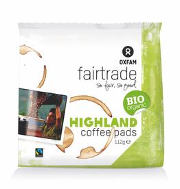 Oxfam koffie - HIGHLANDKOFFIEPADS 7g x 16 stuks, OXFAM