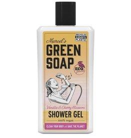 Marcel's Green Soap Shower gel vanilla & cherry blossom 500 ml