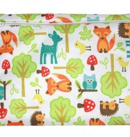 ImseVimse Mini Wet Bag, Woodland 20 x 15cm