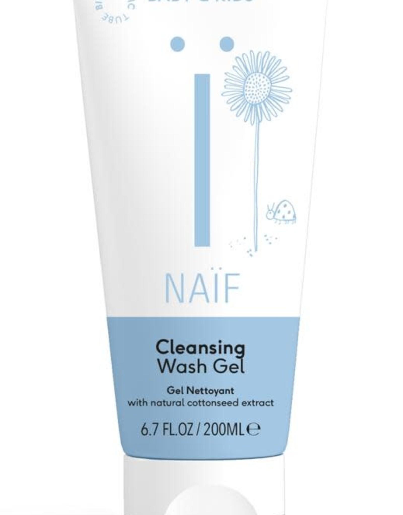 Naïf Cleansing Wash Gel Baby+Kidscare