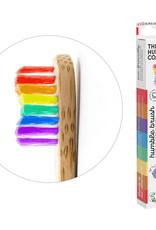 The Humble Co. Humble Brush Bamboe tandenborstel - kids - proud