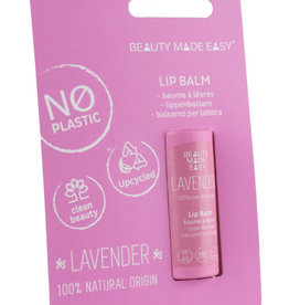 Beauty Made Easy Papertube lipbalm lavender 6g