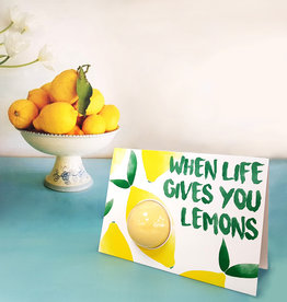 Bomb cosmetics When Life Gives You Lemons Blastercard