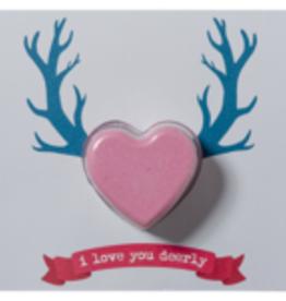 Bomb cosmetics I Love You Deerly Blastercard