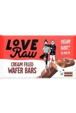 Love Raw Love raw cream filled waffer bars 43g