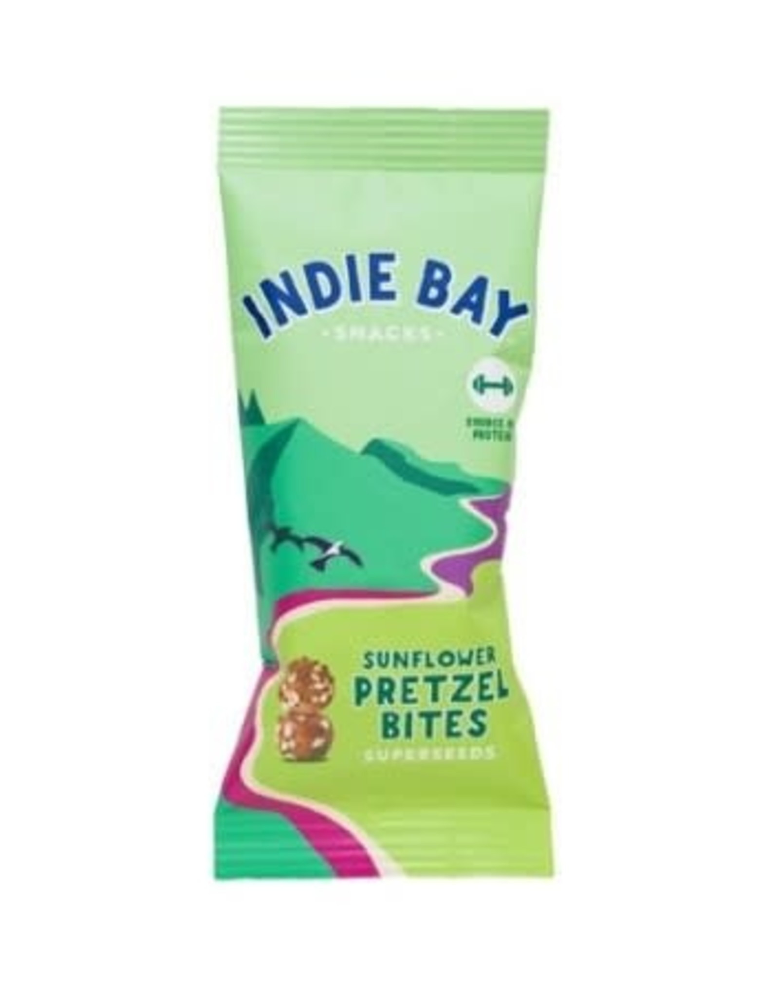 Indie bay Indie Bay Crunchy pretzels met superseeds