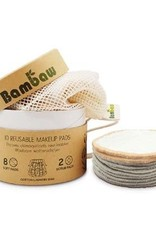 Bambaw Bambaw 10 herbruikbare wattenschijfjes