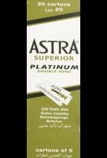 Astra Bambaw/Astra Platinum blades double edge 5 x 20 doosjes