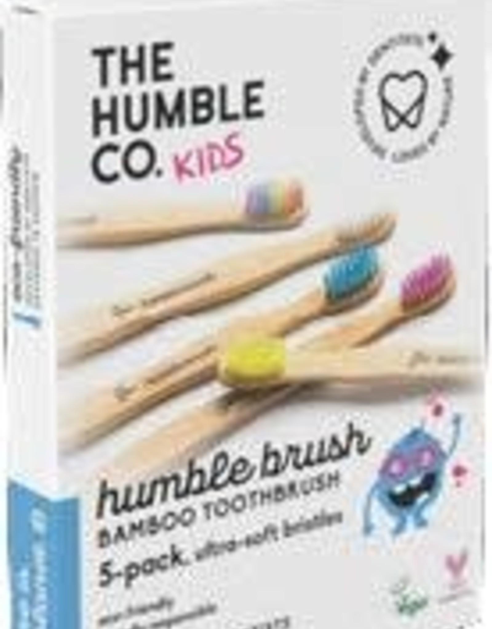 The Humble Co. Humble Brush Bamboe tandenborstels kids - ultra soft - 5 stuks