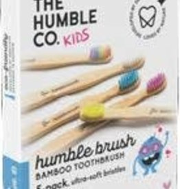 The Humble Co. Humble Brush Bamboe tandenborstels kids - ultra soft - 5 stuks