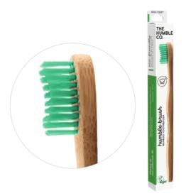 The Humble Co. Humble Brush Bamboe tandenborstel Green Soft