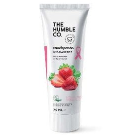 The Humble Co. Humble Natural Toothpaste Pink Ribbon Edition with Fluoride 75ml