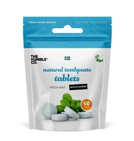The Humble Co. HUMBLE TOOTHPASTE TABLETS with FLUORIDE 60 tablets