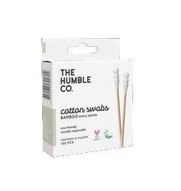 The Humble Co. Humble Bamboo Cotton Swaps White Spiral 100pcs