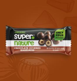 supernature CHOCOLATE COVERED HAZELNUTS 40 gram