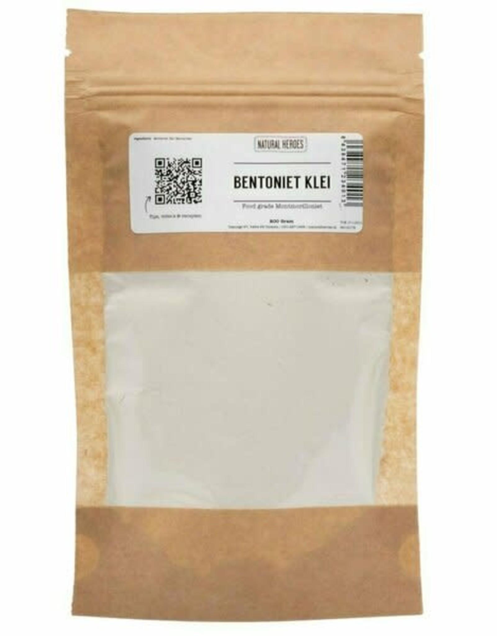 Natural Heroes Bentoniet Klei (Food Grade) 200g