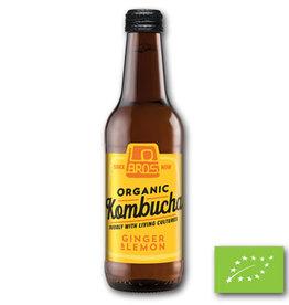 Lo Bros Lo Bros Kombucha ginger & lemon 330ml