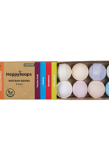 Happy Soaps Mini Bath Bombs - Tropical fruits (8 stuks)
