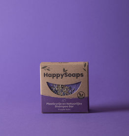 Happy Soaps Purple rain shampoo bar (zilvershampoo) - 70g
