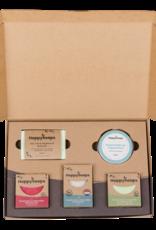 Happy Soaps Plasticvrije Verzorging Giftbox - Herbs & Spices Large