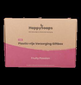 Happy Soaps Plasticvrije Verzorging Giftbox - Fruity Passion Large