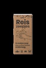 Happy Soaps Happy Mini Reis- en Toiletzeepjes (12 stuks) - 30g