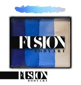 Fusion Fusion Body Art Face Painting Rainbow Cakes – Frozen Shimmer | 50g