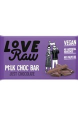 Love Raw Choc bar juste chocolat MILK - LoveRaw 30g