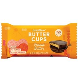 Love Raw Love raw 2 chacolate butter cups peanut butter 34g