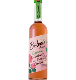 Belvoir Belvoir Organic Elderflower & Rose Cordial BIO 500ml