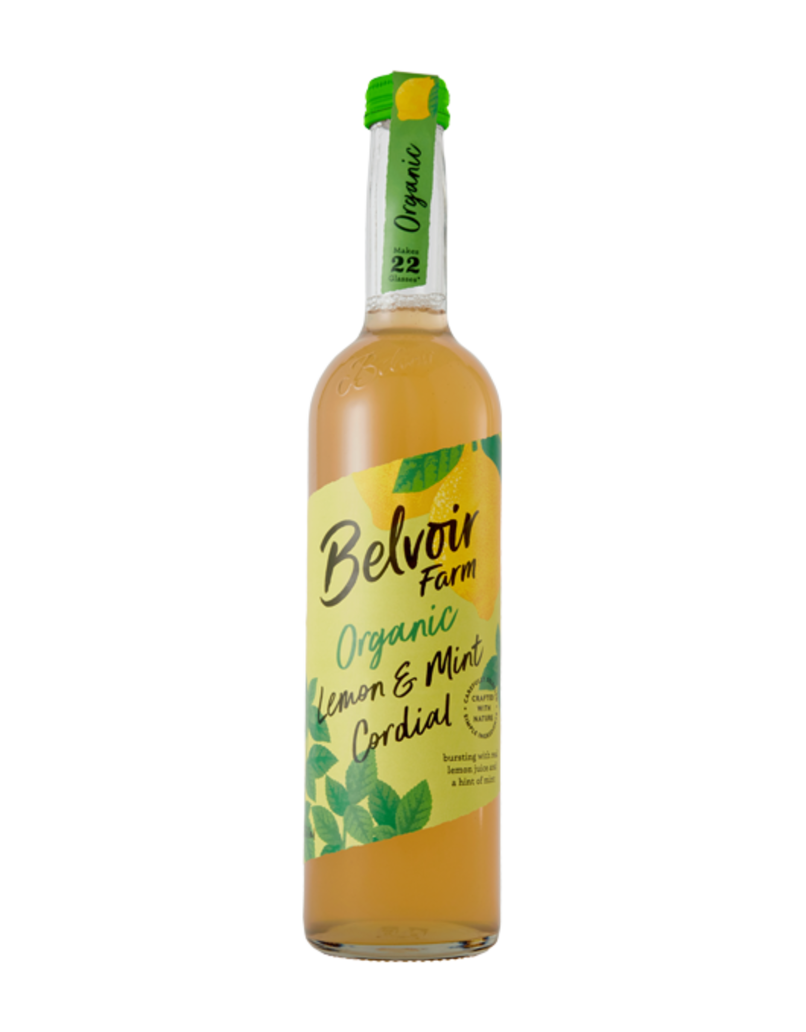 Belvoir Belvoir Organic Lemon & Mint Cordial BIO 500ml