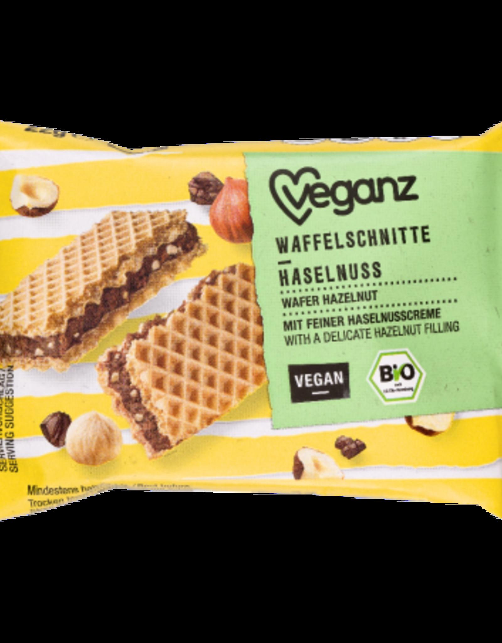 veganz Bio wafel met hazelnoot - Veganz 22g