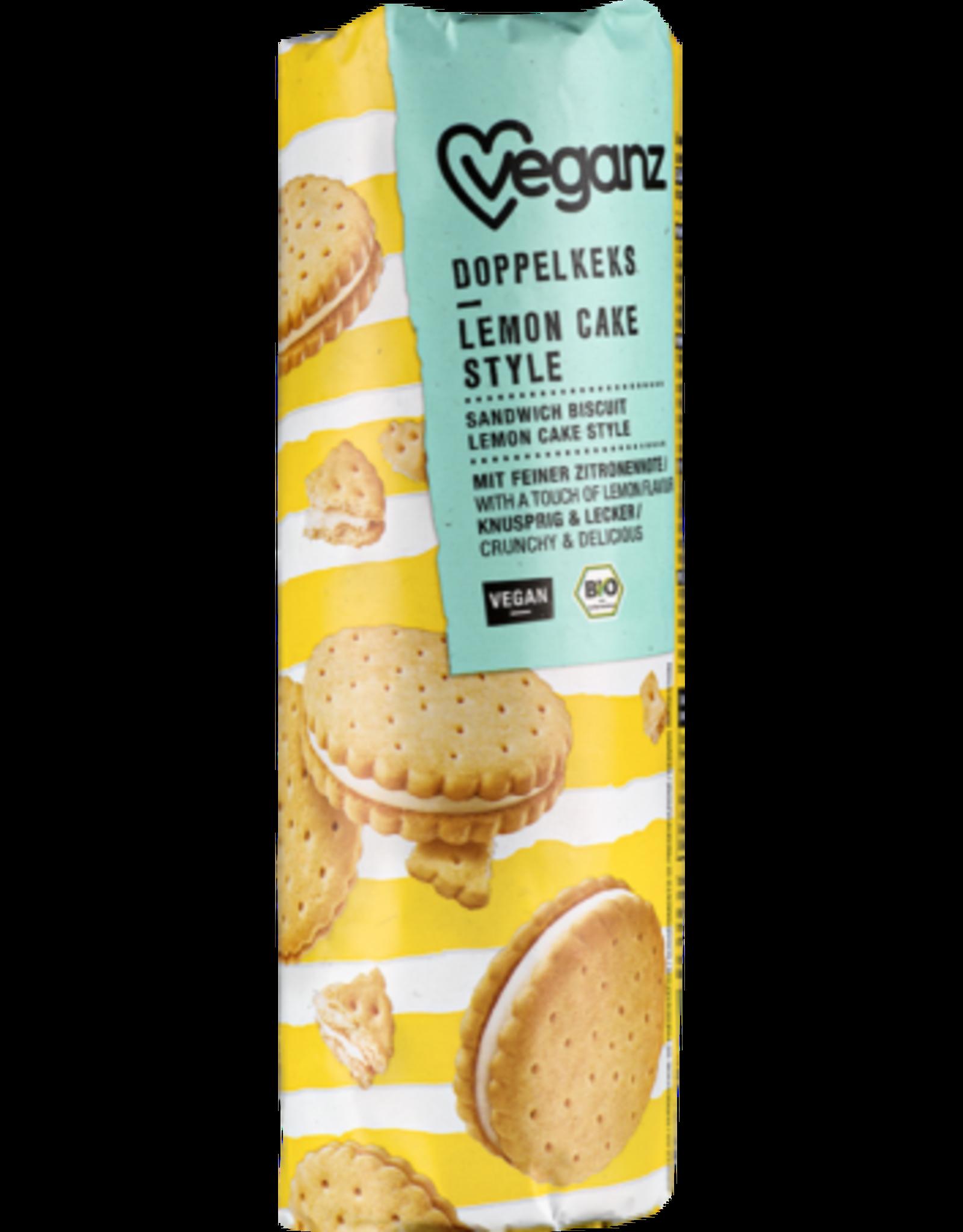 veganz Biscuits Fourrés Bio Goût Citron - Veganz 400g