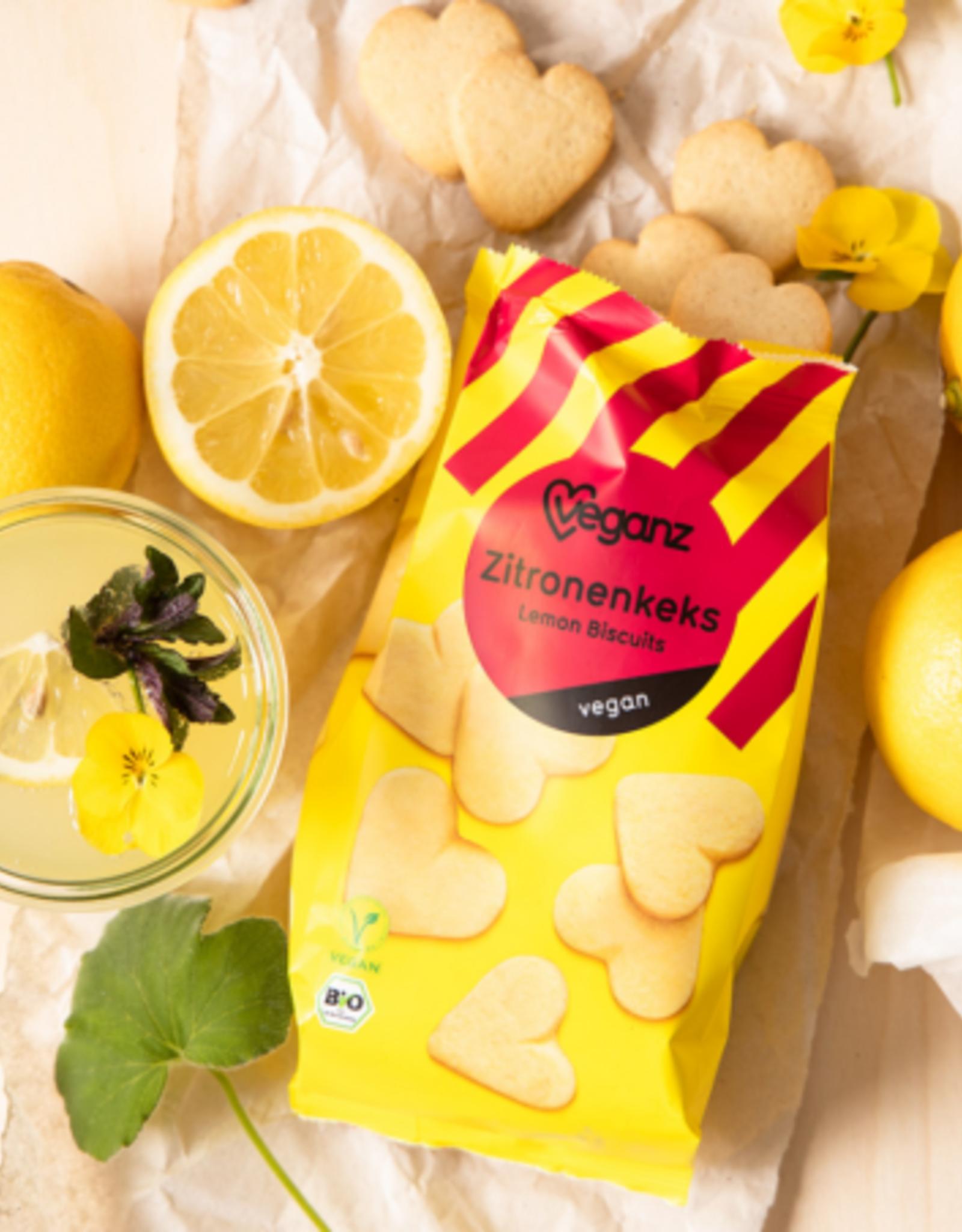 veganz Biscuits Cœurs Bio Citron - Veganz 150g