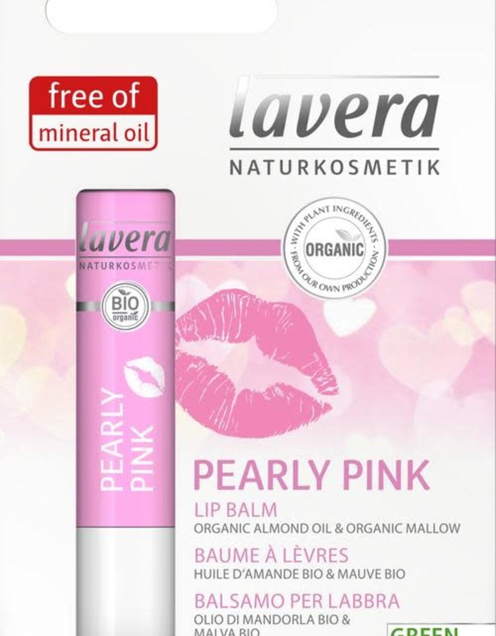 Lavera Lippenbalsem/lip balm pearly pink 4,5 g