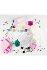 Roos met Witte Stippen DIY pakket Zeepjes - Roos met Witte Stippen