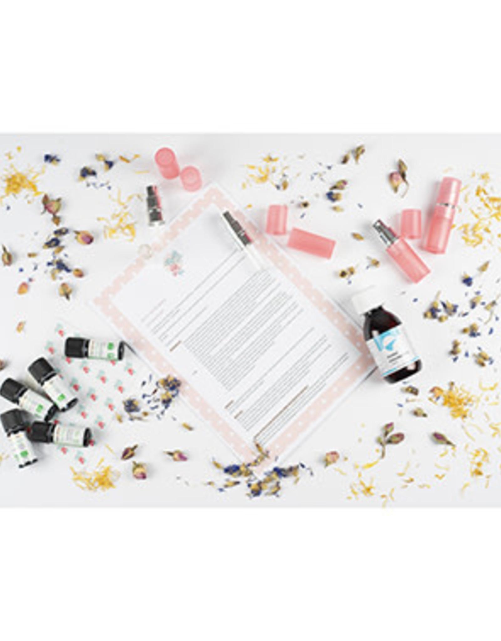 Roos met Witte Stippen DIY pakket Parfum - Roos met Witte Stippen