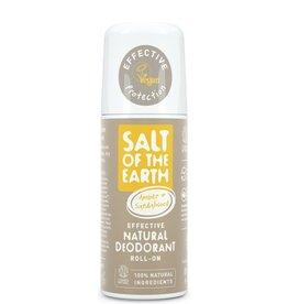 Salt of the Earth Salt of the Earth - Amber & Sandalwood Natural Roll-On Deodorant 75 ml